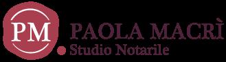 Studio Notarile Paola Macrì Logo